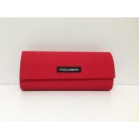 Dolce Gabbana Orjinal Kırmızı Güneş Gözlüğü Kabı Kılıfı