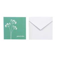 Kart-10 Geçmiş Olsun Kartı Beyaz Zarf