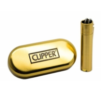 Clipper metal çakmak gold