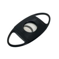 Passatore 1.Sınıf Parlak Siyah İpc Kap. Çelik Puro Makası hu35