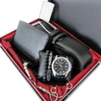 Casio 13 - Özel Set Saat Tesbih Cüzdan Kemer Çakmak Ve 2 Bilekik