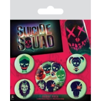 Pyramid International Rozet Seti Suicide Squad Skulls