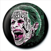 Pyramid International Rozet Suicide Squad Joker Tattoo