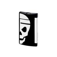 Dupont Çakmak Minijet Lacquer White Skull 10055