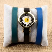 Zeblaze Tmkd004B Papatya Resimli Kordonu Değiştirilebilir Kadın Kol Saati