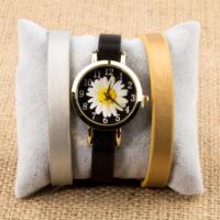 Zeblaze Tmkd004D Papatya Resimli Kordonu Değiştirilebilir Kadın Kol Saati