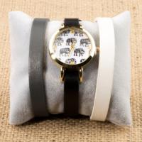 Zeblaze Tmkd005D Fil Figürlü Tasarım Kordonu Değiştirilebilir Kadın Kol Saati
