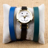 Zeblaze Tmkd006A Kedi Figürlü Tasarım Kordonu Değiştirilebilir Kadın Kol Saati