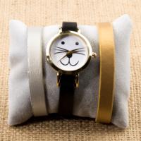 Zeblaze Tmkd006D Kedi Figürlü Tasarım Kordonu Değiştirilebilir Kadın Kol Saati