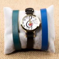 Zeblaze Tmkd008A Sol Anahtarı Kalp Figürlü Kordonu Değiştirilebilir Kadın Kol Saati