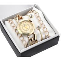 Denacci Ap 1843 Kadın Kol Saati Ve Bileklik Kombin