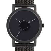 Projects Watches Pw-7265-Bm Nadir Black Mesh Unisex Kol Saati