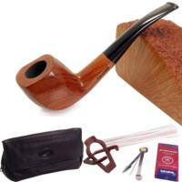 Falconetti Maun Ağacı Mat El Yapımı Pipo Seti pt84