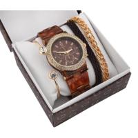 Benson Ap 1861 Kadın Kol Saati Ve Bileklik Kombin