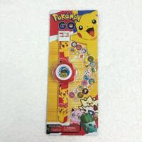 Pokemon Go Pikachu Projektör Projector Çocuk Kol Saati -20 Farklı Görüntü