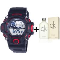 Diray 340G3 Erkek Kol Saati + Calvin Klein One Edt 200 Ml Unisex Parfüm