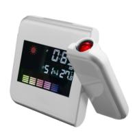 Lideroutled Led Projektör Saat Duvara Yansıyan Masa Saati