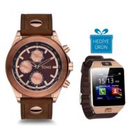 Toms TM61358-447-S Erkek Kol Saati Akıllı Saat Hediyeli