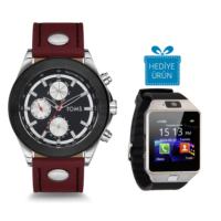 Toms TM61358-447-J Erkek Kol Saati Akıllı Saat Hediyeli