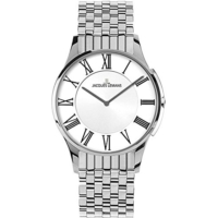 Jacques Lemans 1-1782C 28Mm London Classic Silber Rakamlı Kadın Saati