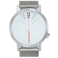 Projects Watches Past Present Future Steel Mesh Unisex Kol Saati