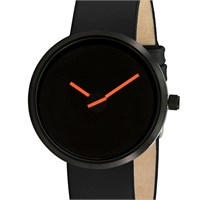 Projects Watches Sometimes Orange With Black Kadın Kol Saati