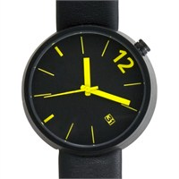 Projects Watches Towards Angles Black-Yellow Unisex Kol Saati