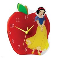 Disney Traditions Enesco Timeless Fairy Tale Snow White Duvar Saati