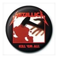 Pyramid International Rozet - Metallica - Kill Em All