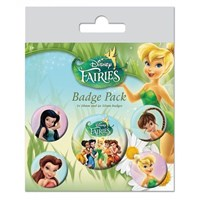 Pyramid International Rozet Seti - Disney Fairies Characters