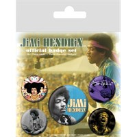 Pyramid International Rozet Seti - Jimi Hendrix