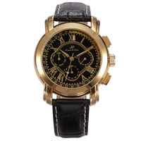 Ks046 Kronen Söhne Golden Rome Luxury Kol Saati