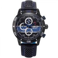 Shark Sh332 Siyah Mavi Şık Spor Erkek Kol Saati