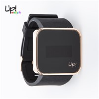 Up Watch Saat Touch Shiny Rose Gold Edition