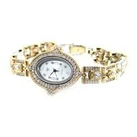 Dhamany İnce Oval Bayan Gümüş Saat