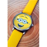 Köstebek Minion Sarı Kol Saati