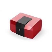 Hf İspanyol Sediri Kırmızı-Siyah Humidor Puro Kutusu Hs50