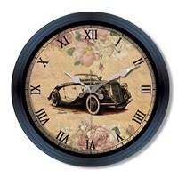Clocktime By Cadran Retro Vintage Duvar Saati Ct102