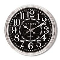 Clocktime By Cadran Metalize Vintage Duvar Saati Ct109