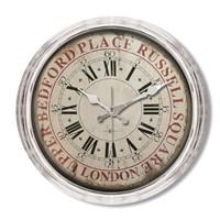 Clocktime By Cadran Metalize Vintage Duvar Saati Ct111