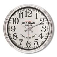 Clocktime By Cadran Metalize Vintage Duvar Saati Ct113