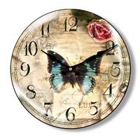 Clocktime By Cadran Dekoratif Bombeli Cam Duvar Saati Ct29