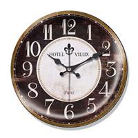 Clocktime By Cadran Dekoratif Bombeli Cam Duvar Saati Ct31