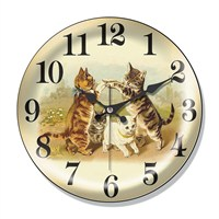 Clocktime By Cadran Dekoratif Bombeli Cam Duvar Saati Ct33