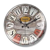 Clocktime By Cadran Dekoratif Bombeli Cam Duvar Saati Ct34