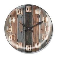 Clocktime By Cadran Dekoratif Bombeli Cam Duvar Saati Ct46