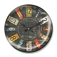 Clocktime By Cadran Dekoratif Bombeli Cam Duvar Saati Ct54