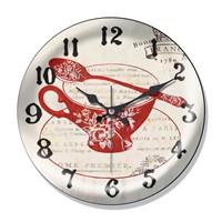 Clocktime By Cadran Dekoratif Bombeli Cam Duvar Saati Ct55