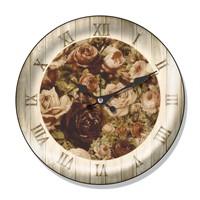 Clocktime By Cadran Dekoratif Bombeli Cam Duvar Saati Ct56