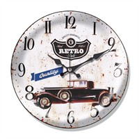 Clocktime By Cadran Dekoratif Bombeli Cam Duvar Saati Ct58